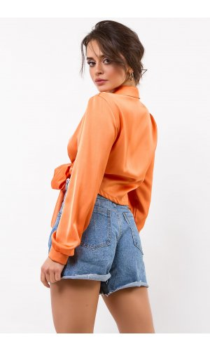 Блуза Дл/рукав  Izzi  9556  (Оранжевый)