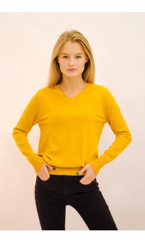Пуловер Remix W 032 (Горчичный)