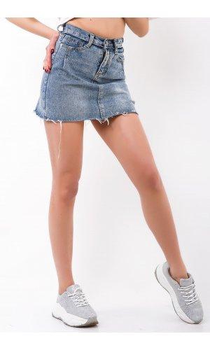 Юбка джинсовая Cool 5585 Голубой