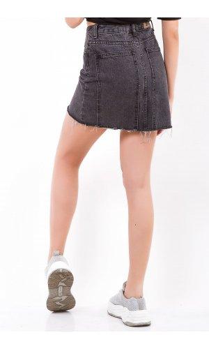 Юбка джинсовая Cool 8619-2 Черный