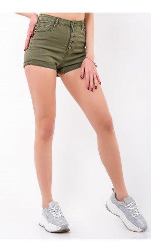 Шорты джинсовые Frendy A60-3 Хаки