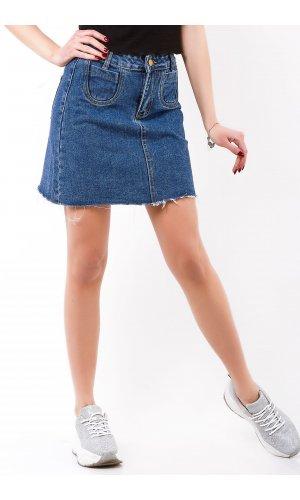 Юбка джинсовая Cool 5630 Синий