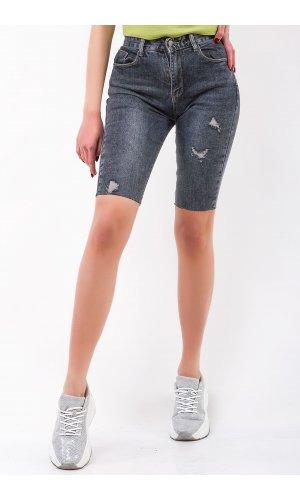 Шорты джинсовые Hong zhu zi 8171 Серый