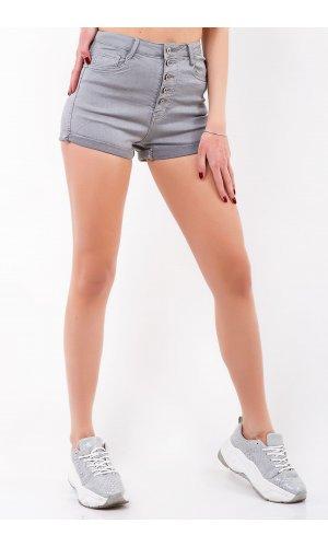 Шорты джинсовые Frendy A60-5 Серый