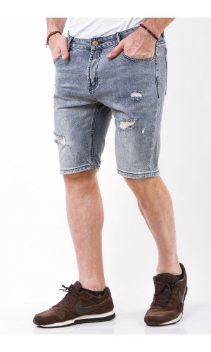 Шорты джинсовые Jlab+Remix C338-1 Синий
