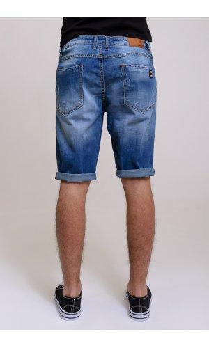 Шорты джинсовые  Jeans 6801 ( синий )