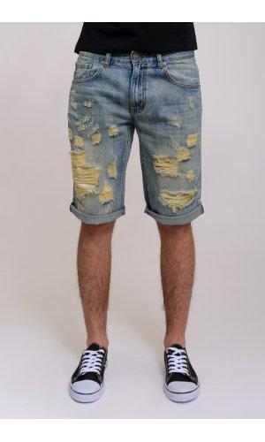 Шорты джинсовые Eban&Shea A366  (голубой)