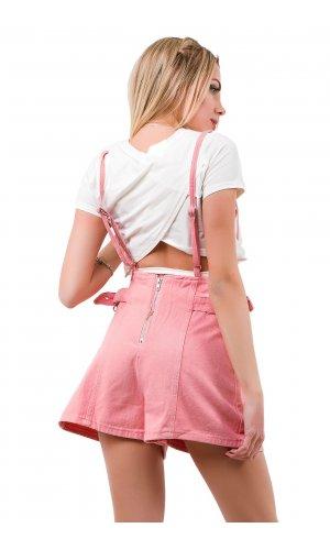 Комбинезон-шорты SSLG 10227 (Розовый)