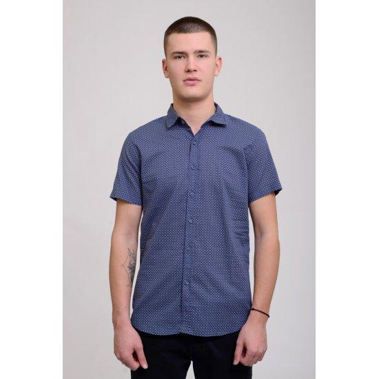 Рубашка Climber 828 0102 C421 Y002 JB0301 (синий)