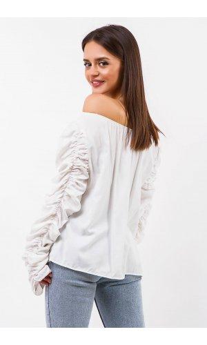 Блуза Дл/рукав Remix W 1170 (Белый)