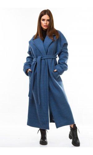 Пальто Remix W 1209 (Синий)