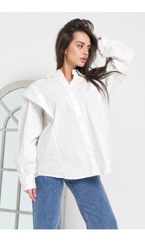 Блуза Grace Li 9028 (Белый)