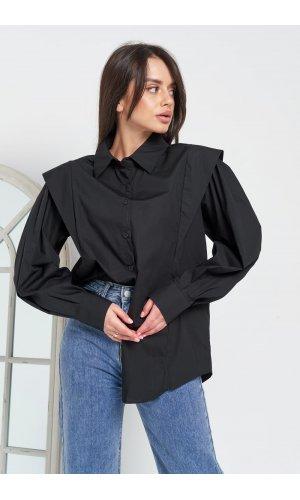Блуза Grace Li 9028 (Черный)