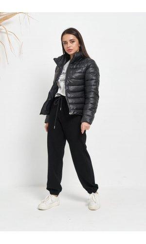 Куртка синтепон Lady Yep 2028 (Черный)