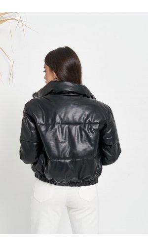 Куртка кожзам Hojziyuan 2102 (Черный)