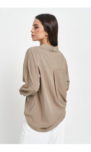 Рубашка длинный рукав June 811008 (Хаки)