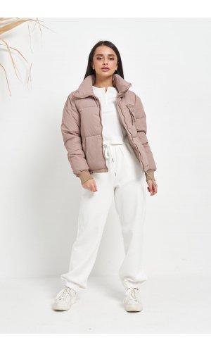 Куртка синтепон Hojziyuan 812 (Т.Бежевый)