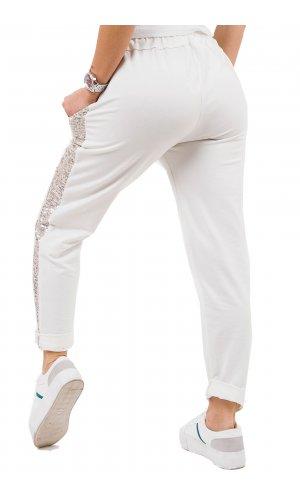 Брюки спорт Blu Royal 1791 (Белый)