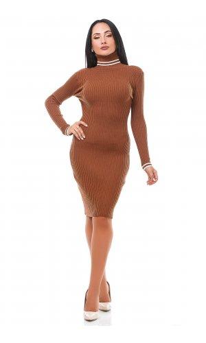 Платье Дл/рук Remix W 1966 (Кирпичный )