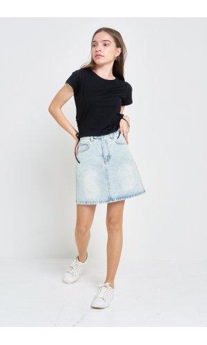 Юбка джинсовая Cool 3111-1 Голубой