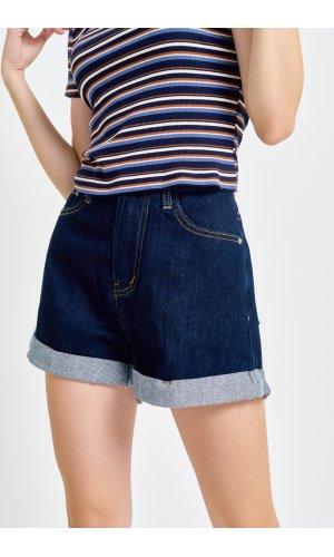 Шорты джинсовые Cool 3218 (Темно-Синий)