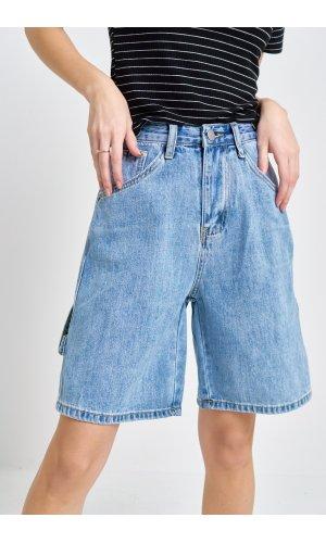 Шорты джинсовые Cool 3222 (Голубой)