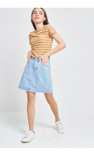 Юбка джинсовая Cool 3506-1 Голубой