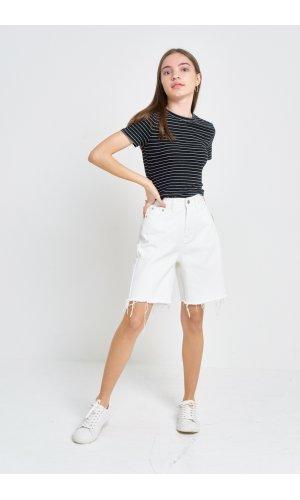 Шорты джинсовые Cool 3527-3 Белый