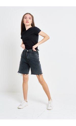 Шорты джинсовые Cool 3527-5 Т.Серый