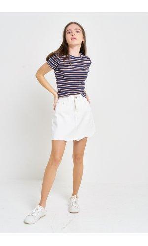 Юбка джинсовая Cool 8770-3 Белый