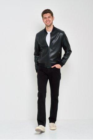 Куртка кожзам Puduoli 7855 Черный - фото 2