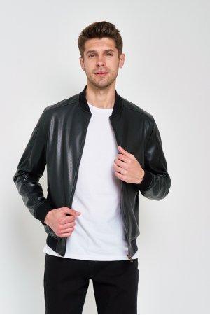 Куртка кожзам Puduoli 7855 Черный - фото 1