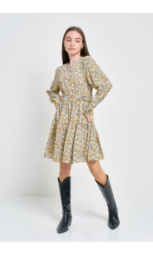 Платье Дл/рук Kiwi 5016 Желтый