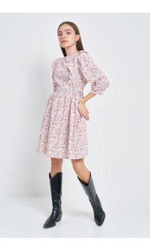 Платье кор/рукав Kiwi 5025 Розовый