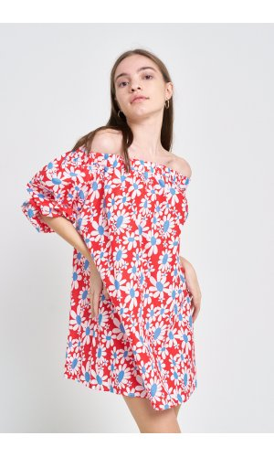 Платье кор/рукав Grace Li 8581 Красный