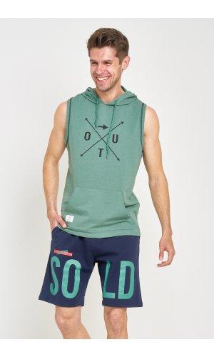 Костюм майка + шорты Sold Out MS-02 Зеленый