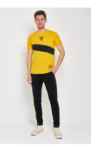 Костюм футболка + брюки Sold Out MS-03 Желтый