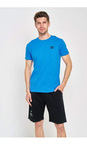 Костюм футболка + шорты Sold Out MS-09 Черно-синий