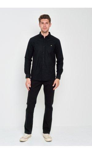 Рубашка Дл/рукав. Sold Out SH-209 Черный