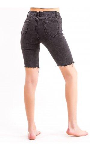 Шорты джинсовые AFD 6917 (Т.Серый)