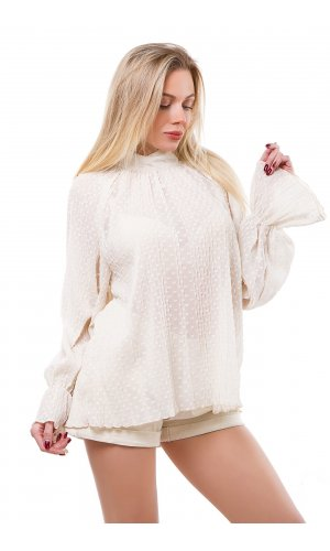 Блуза 5609 (бежевый)