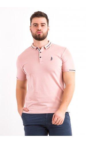 Поло Alexbenson 82006 (Розовый)