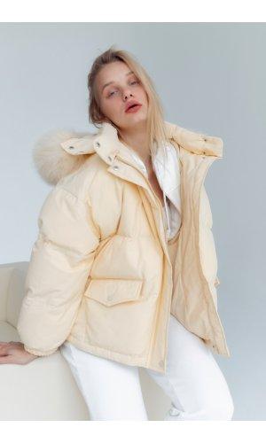 Куртка синтепон Yc.Nana 63379 (Желтый)