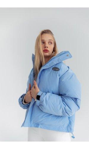 Куртка синтепон Yc.Nana 83702 (Голубой)
