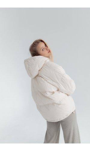 Куртка синтепон Yc.Nana 83703 (Бежевый)