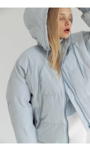 Куртка синтепон Yc.Nana 83703 (Голубой)