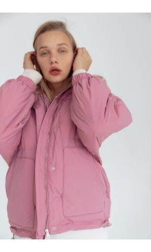Куртка синтепон Yc.Nana 87195 (Сиреневый)