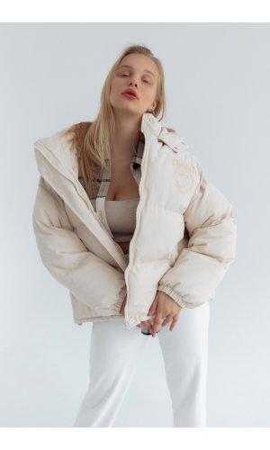 Куртка синтепон Yc.Nana 83705 (Бежевый)