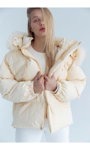 Куртка синтепон Yc.Nana 83707 (Желтый)