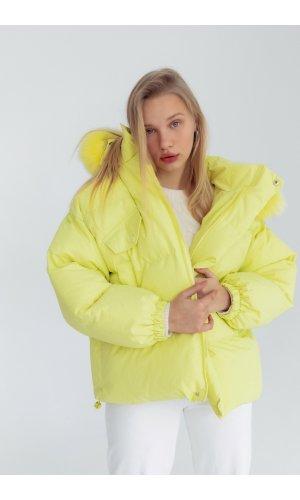 Куртка синтепон Yc.Nana 83707 (Салатовый)